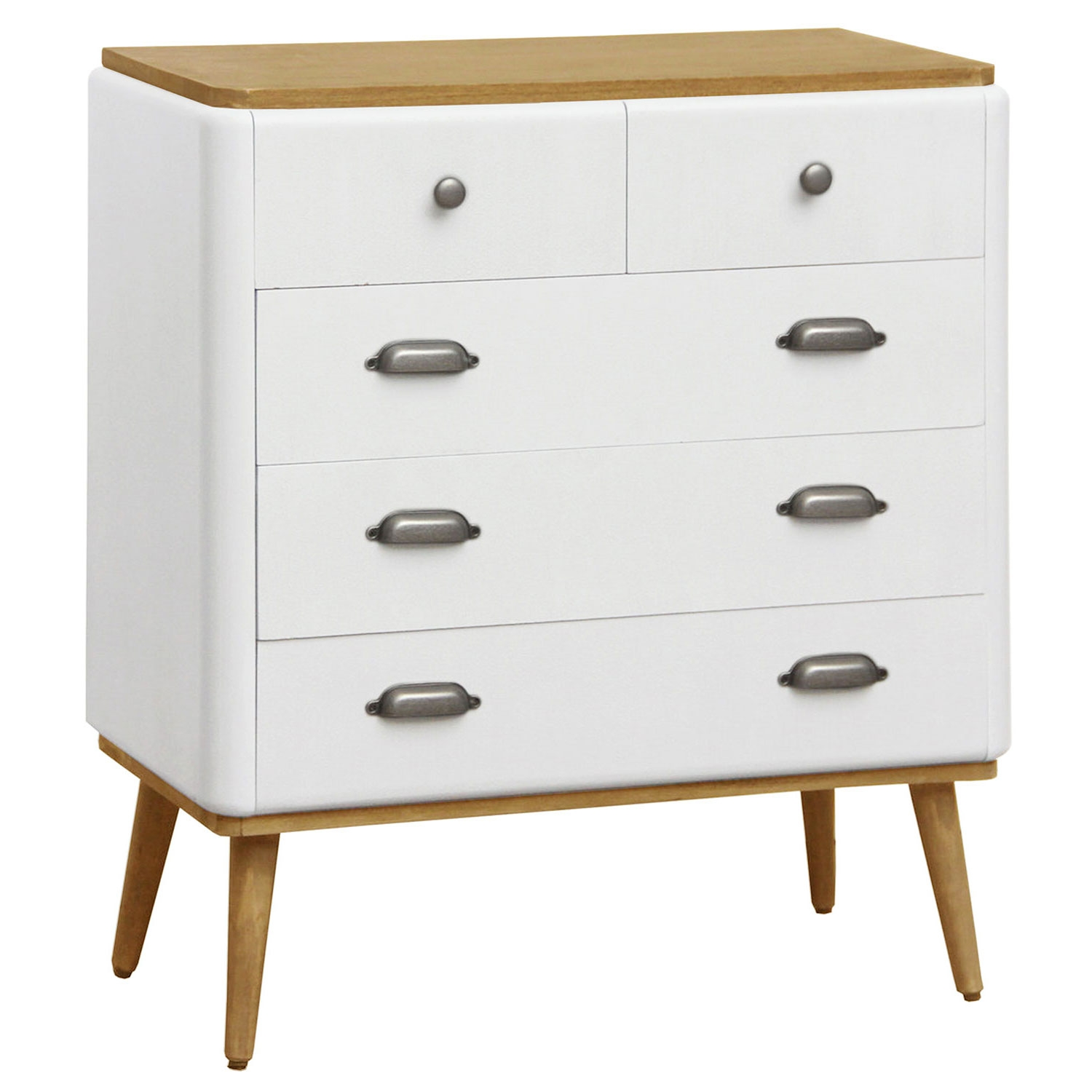 Commode Coiffeuse Hansel scandinave Blanc