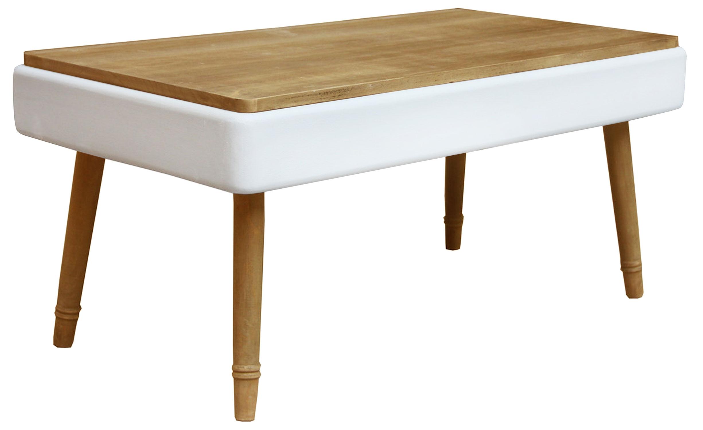 Table basse Hansel scandinave Blanc