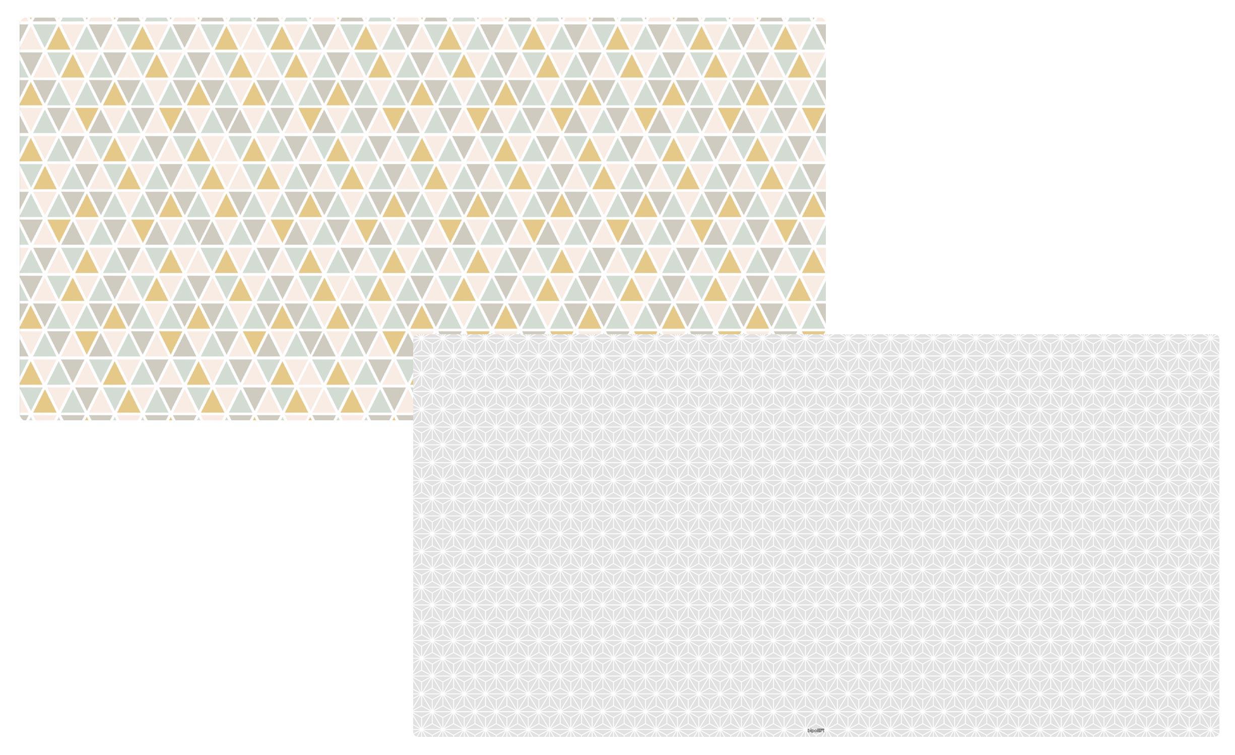 2 Tops magnétiques 120X60cm coloris style Scandinave