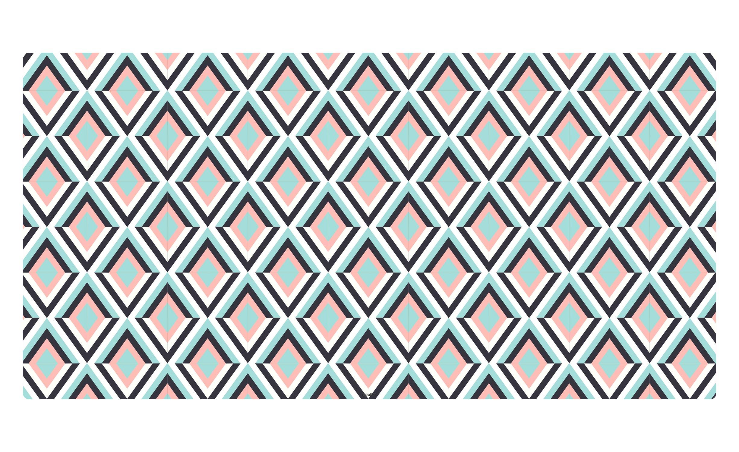 1 Top magnétique 120X60cm Losanges Coloris LOSANGES