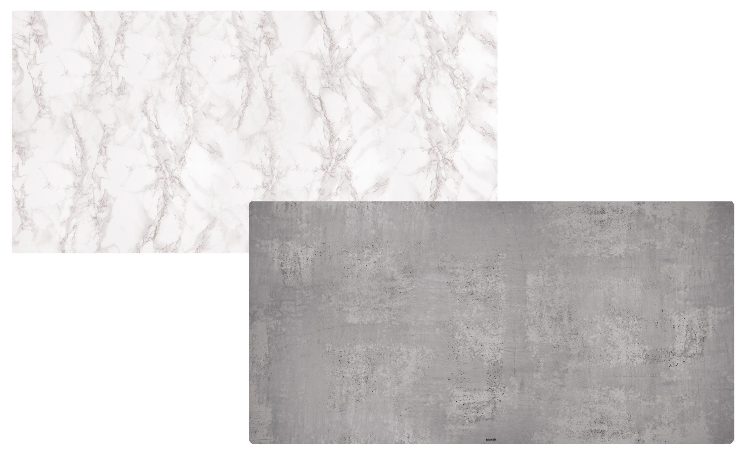 2 Tops magnétiques 120X60cm coloris style Textures