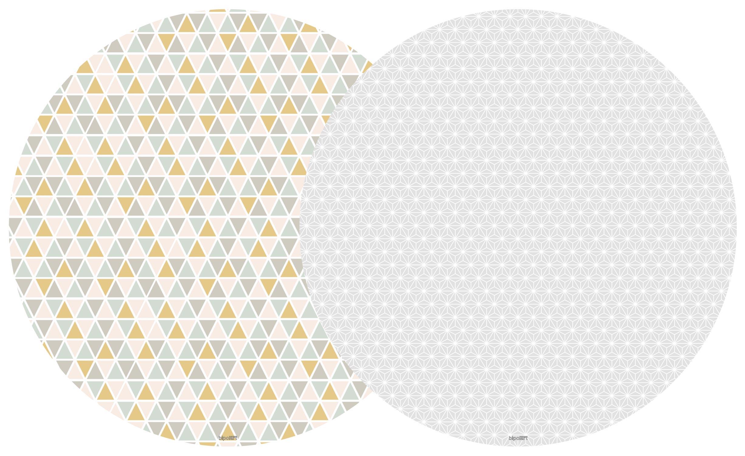2 Tops magnétiques D90cm coloris style Scandinave