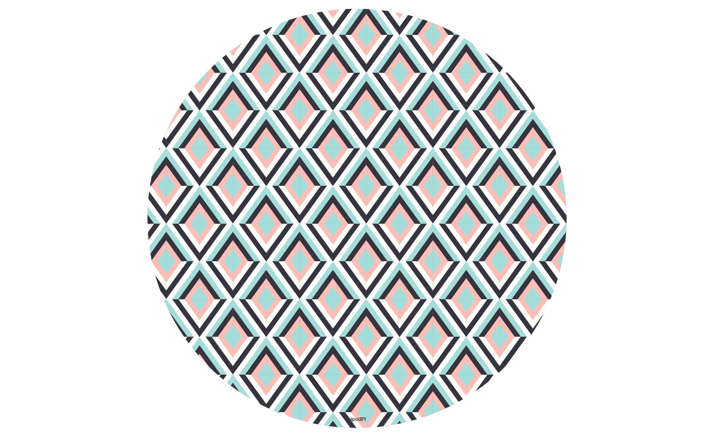 1 Top magnétique D90cm Losanges Coloris LOSANGES