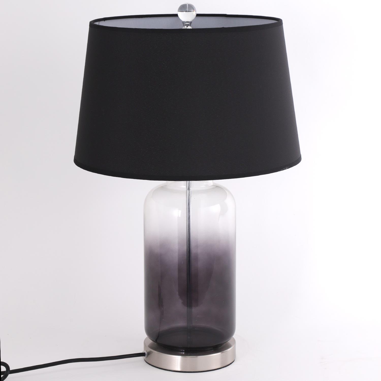 Lampe de chevet Belgrade métal Noir