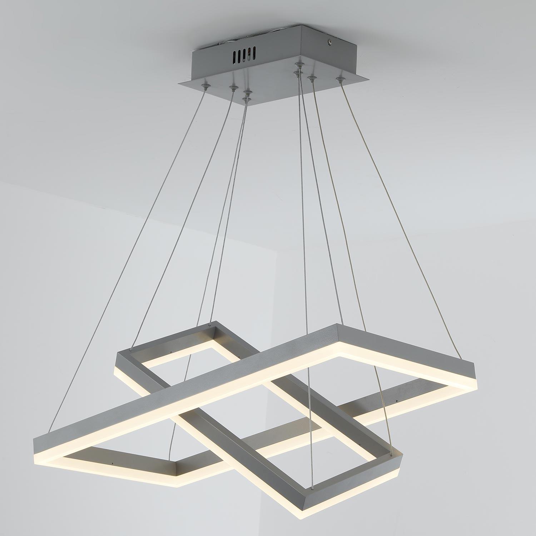 Suspension LED Solax Métal Gris
