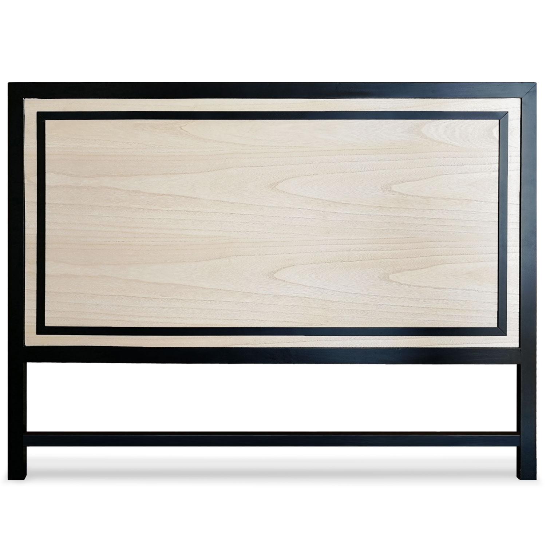 Tête de lit Framet 160cm Chêne et Noir