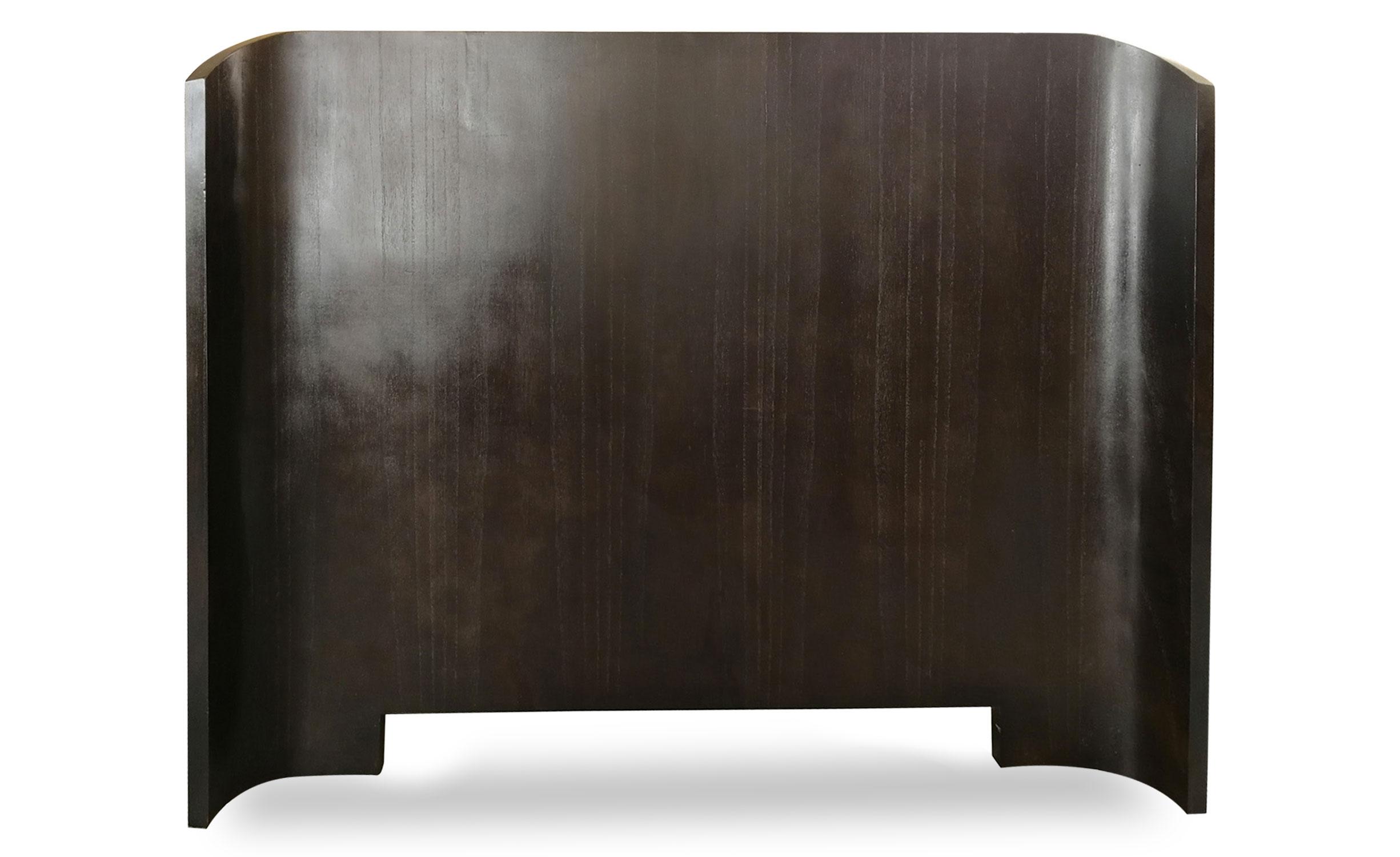 Tête de lit Mahuva 140cm Bois foncé