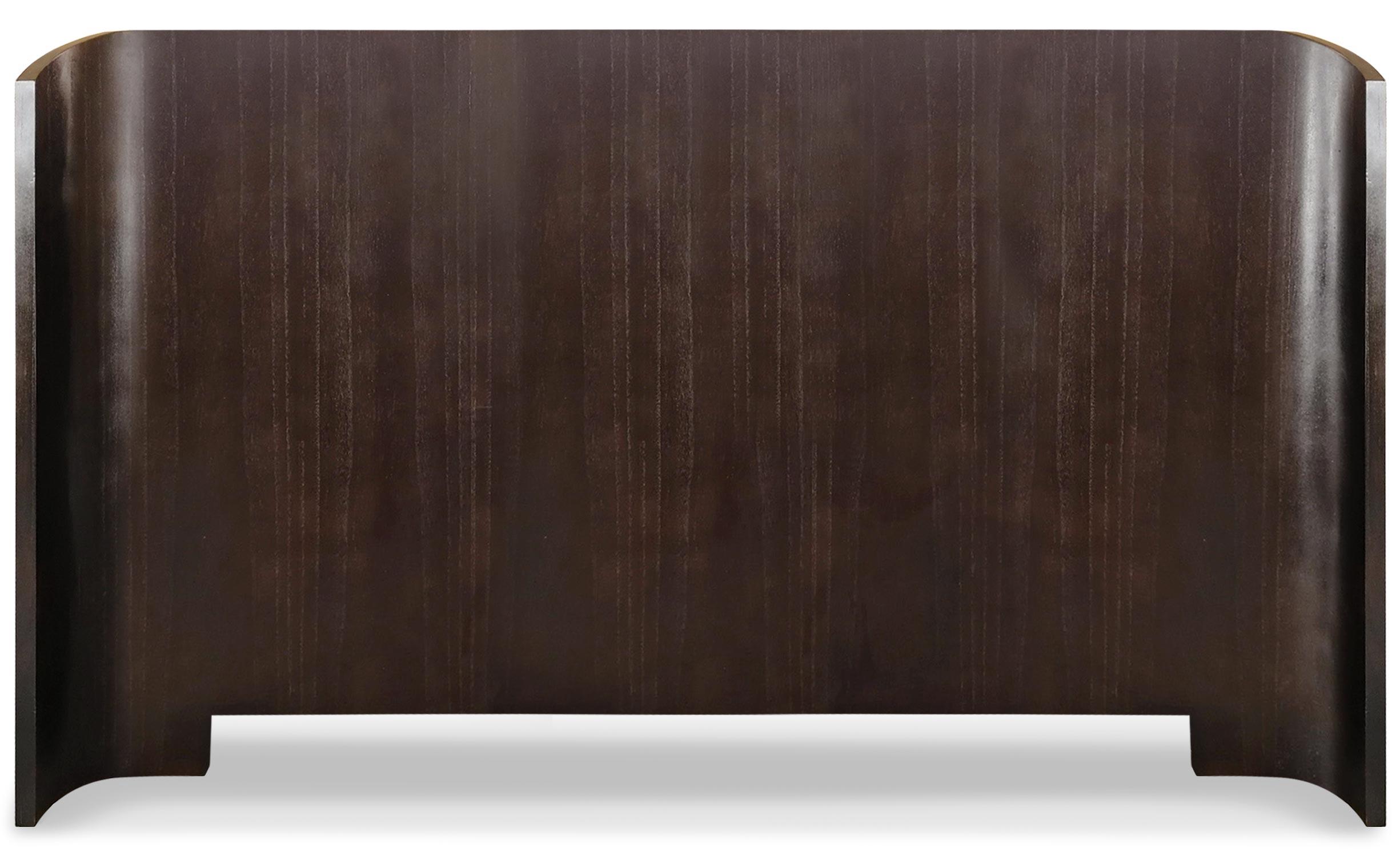 Tête de lit Mahuva 180cm Bois foncé