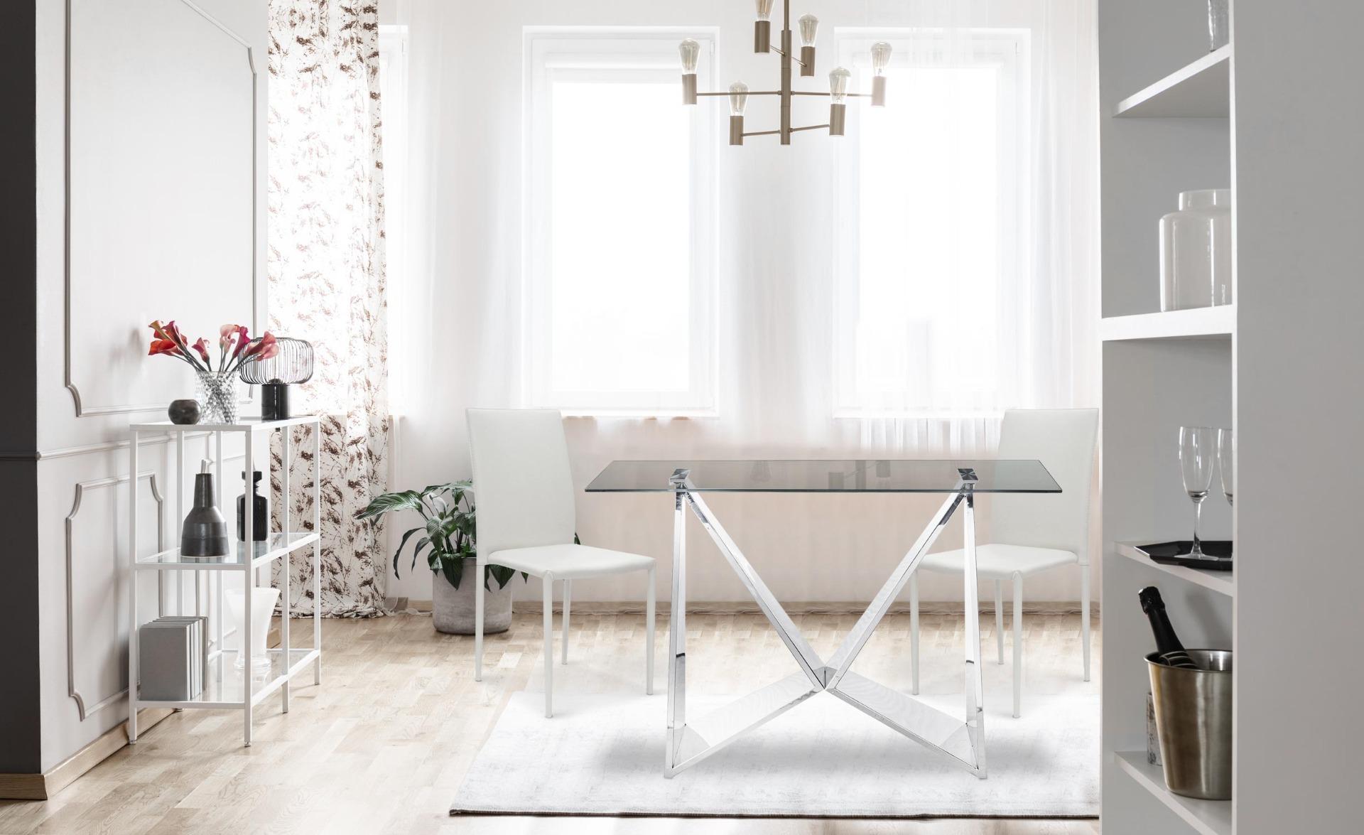 Lot de 30 chaises empilables Modan Simili (P.U) Blanc