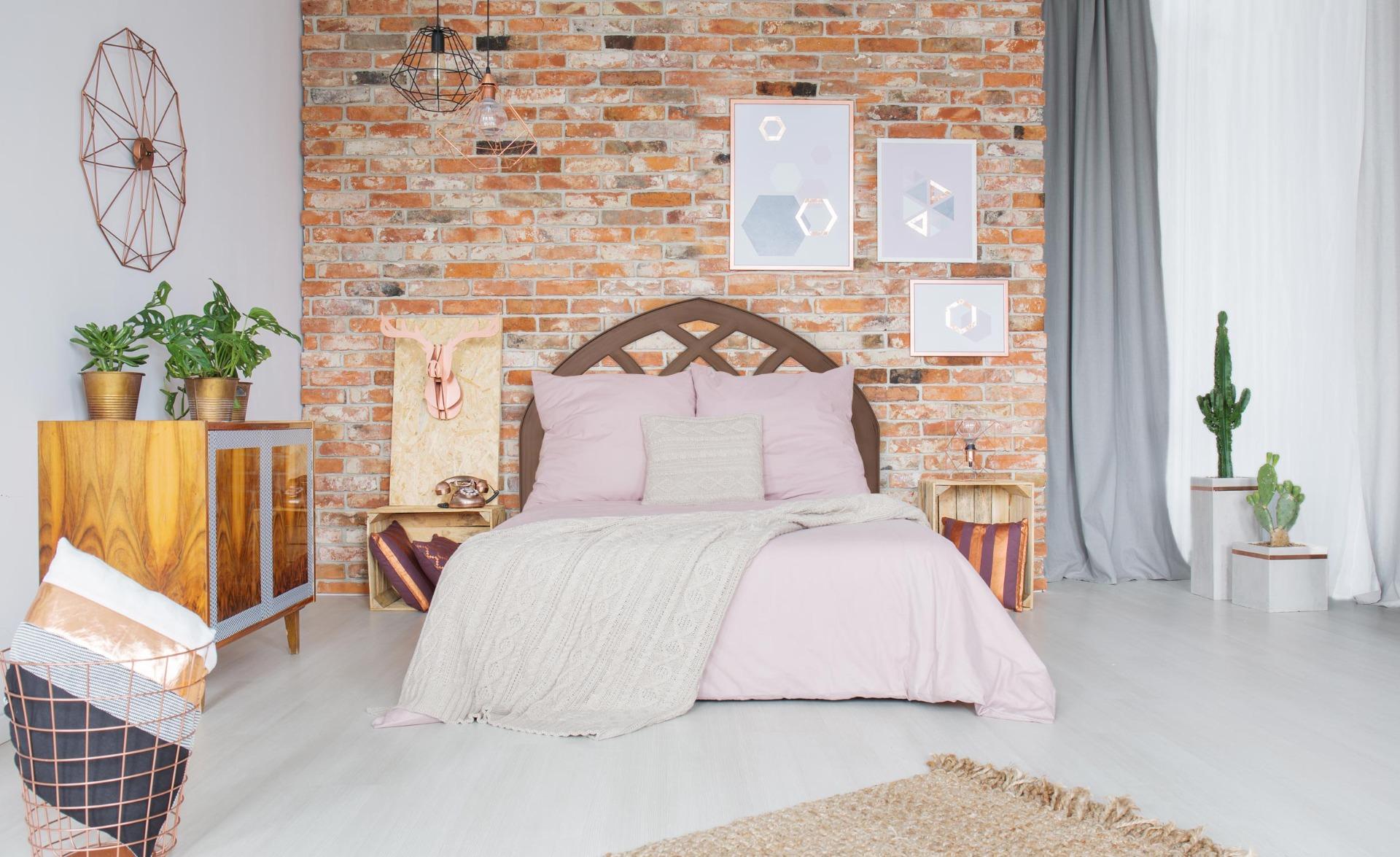 Tête de lit Aladin 160cm Bois Marron