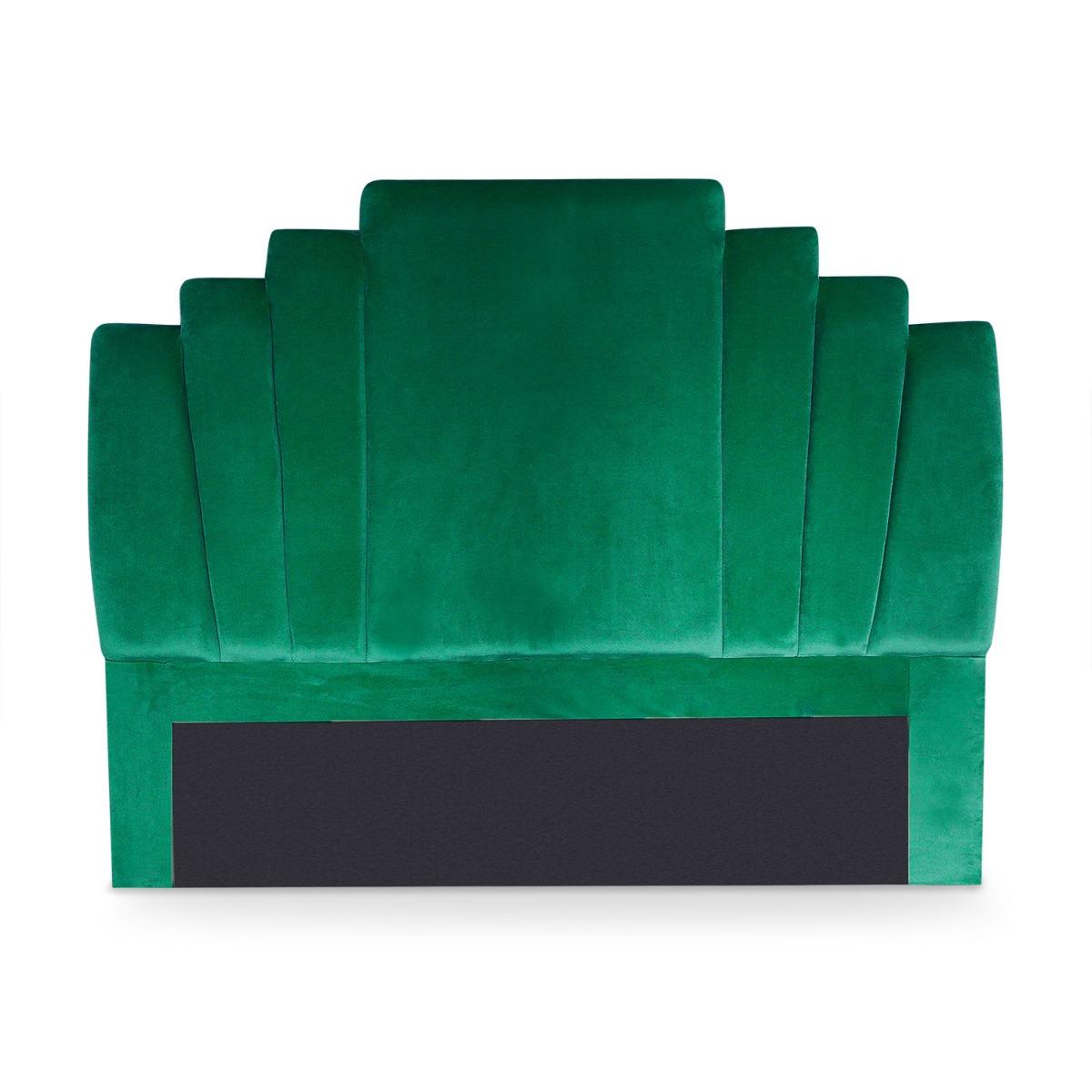 Tête de lit Arena 140 cm Velours Vert
