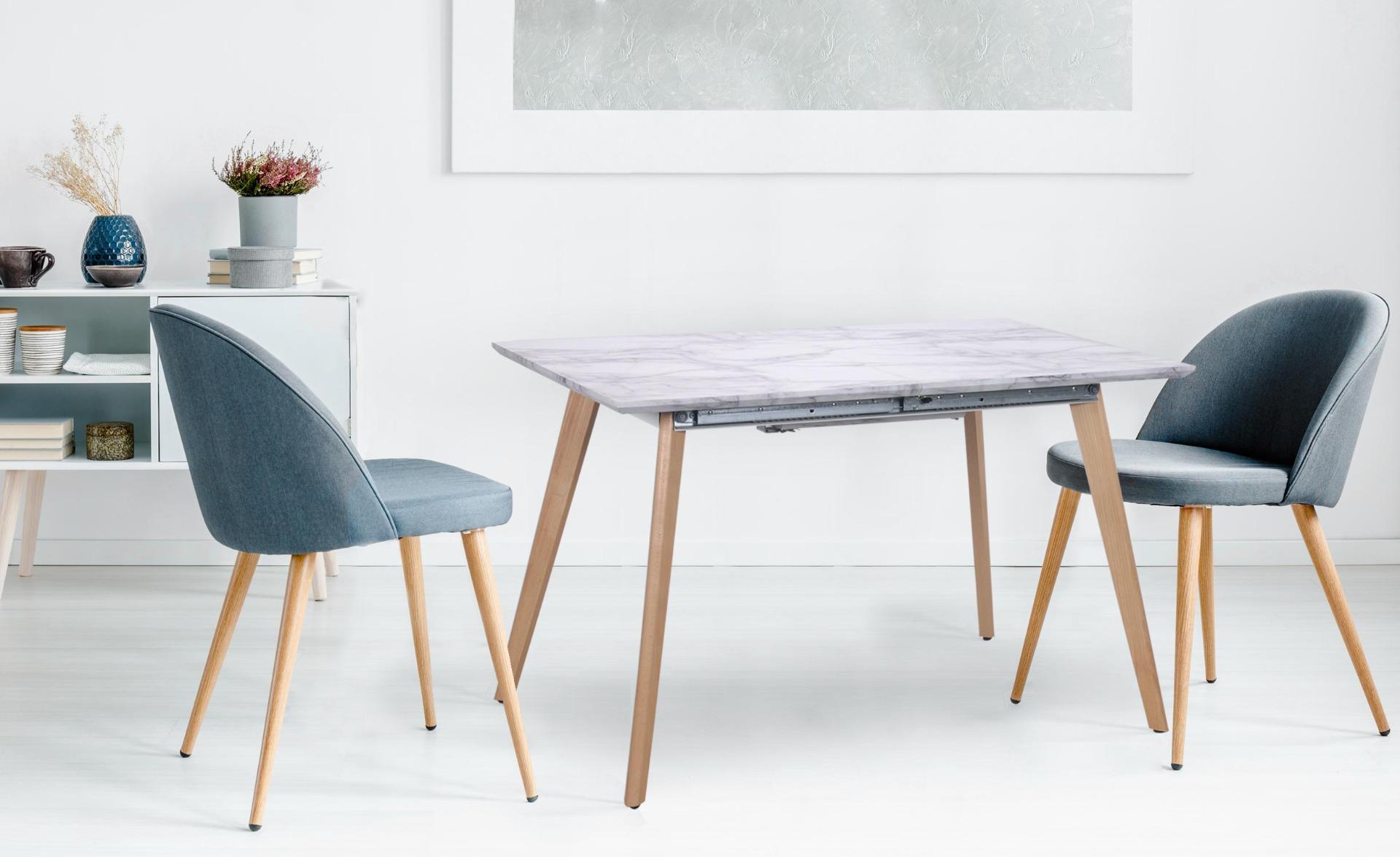 Table extensible Bilbao effet Marbre