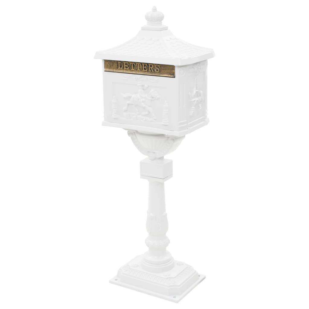 Boîte aux lettres Octave Aluminium Vintage Blanc