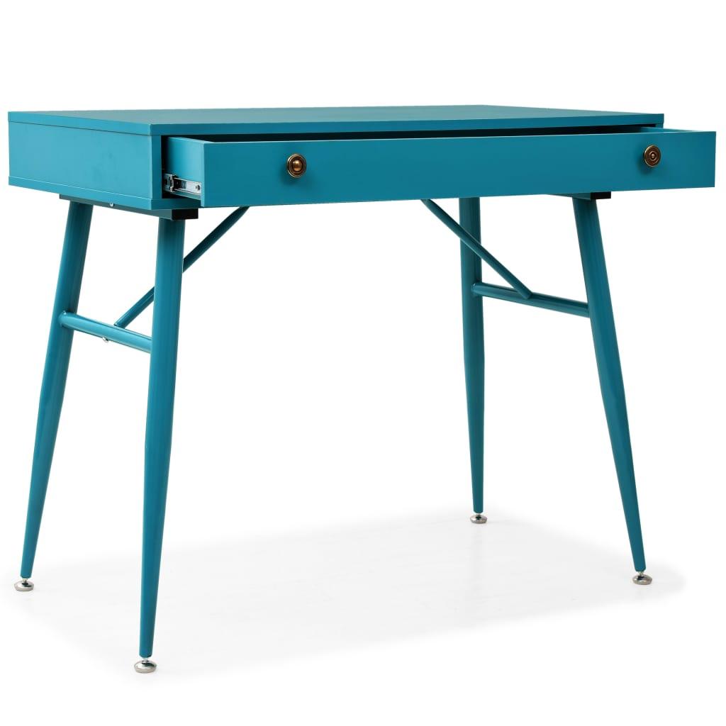 Bureau avec tiroir Tahiti Bleu-vert