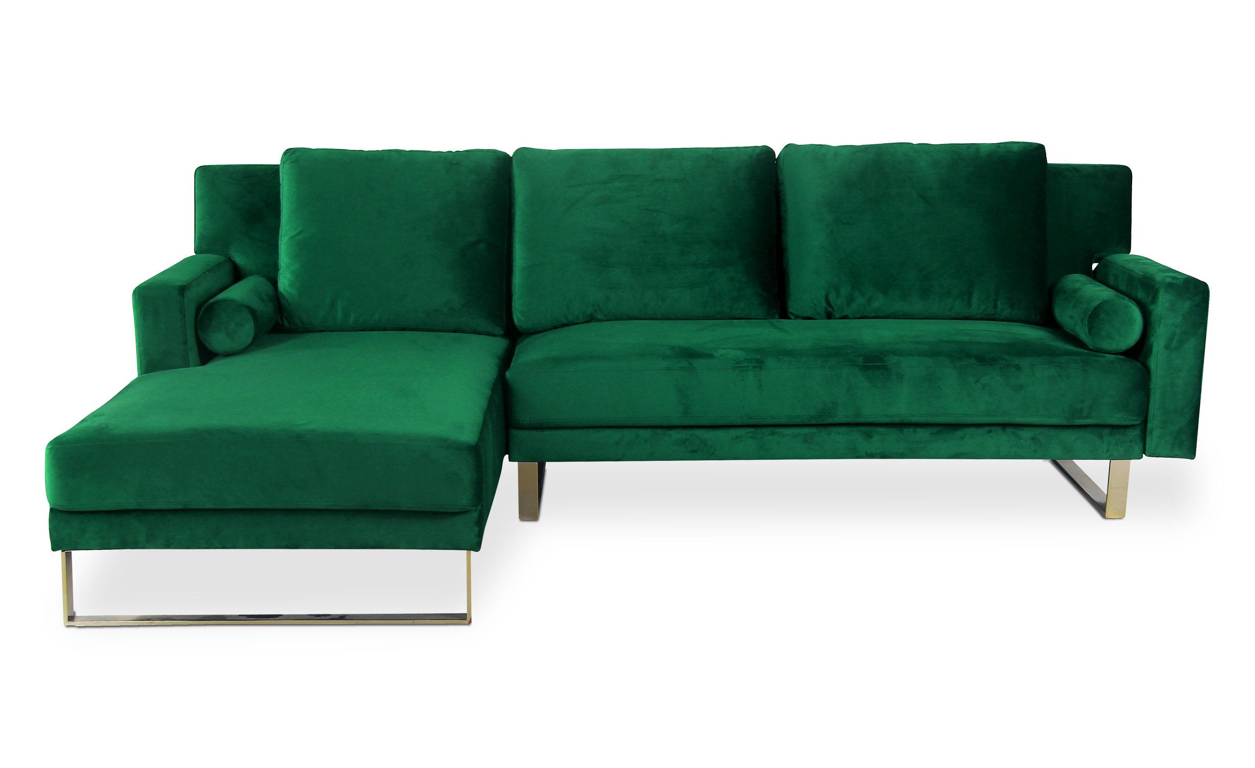 Canapé d'angle Nirvana Velours Vert