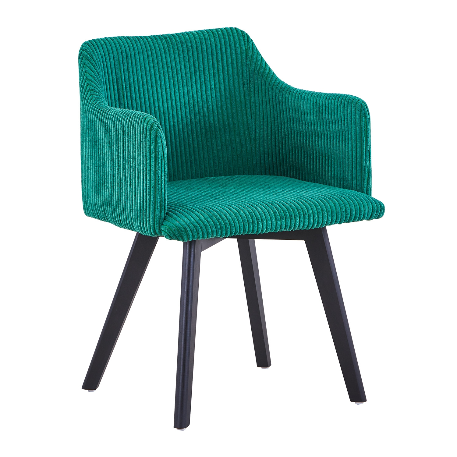 Chaise style scandinave Candy Velour Vert