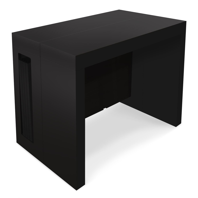 Table console extensible Chay Noir Mat