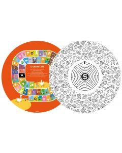2 Tops magnétiques D90cm coloris style KIDS