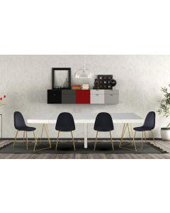 Table Extensible Neila Effet Marbre