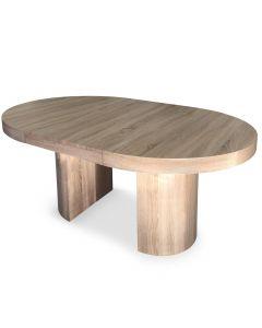 Table ronde extensible Suzie Chêne Clair