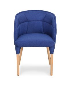 Chaise / Fauteuil Cielo Tissu Bleu
