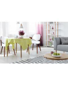 Lot de 2 chaises scandinaves Dima Bois Noisette et Blanc