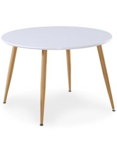 Table scandinave Nina Bois laqué
