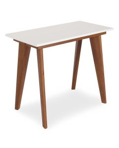 Table ronde extensible Flavie Blanc