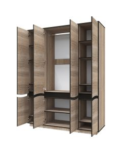 Grande armoire Genevaro Chêne clair