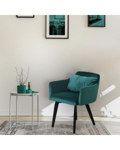 Lot de 20 chaises / fauteuils Gybson Velours Vert