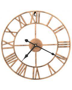 Horloge murale Londonian 40cm Métal Doré