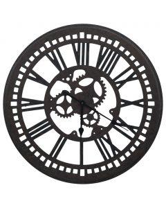 Horloge murale Mekanism 80cm Noir
