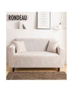 Housse de canapé extensible Decoprotect 2 places Rondeau
