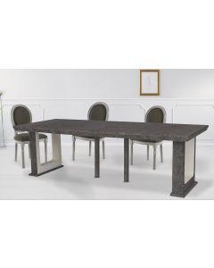 Table Console extensible 250cm Houston Effet Béton