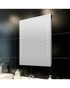 Miroir mural de salle de bain Glamdot 60x80cm LED