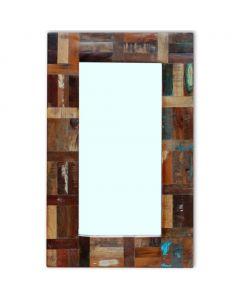 Miroir vertical Nakapali 50x80cm Bois Massif