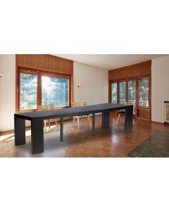 Table Console extensible Nassau XL Noir carbone