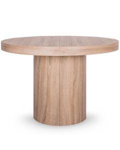 Table Console ronde extensible Suzie XL Chêne Clair