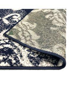 Tapis moderne Cachaline Beige et Bleu 140x200cm