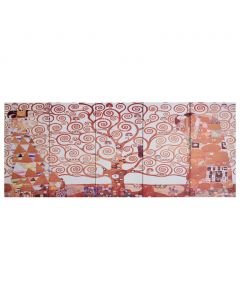 Toile polyptyque Everything 200x80cm Jaune Motif Arbre