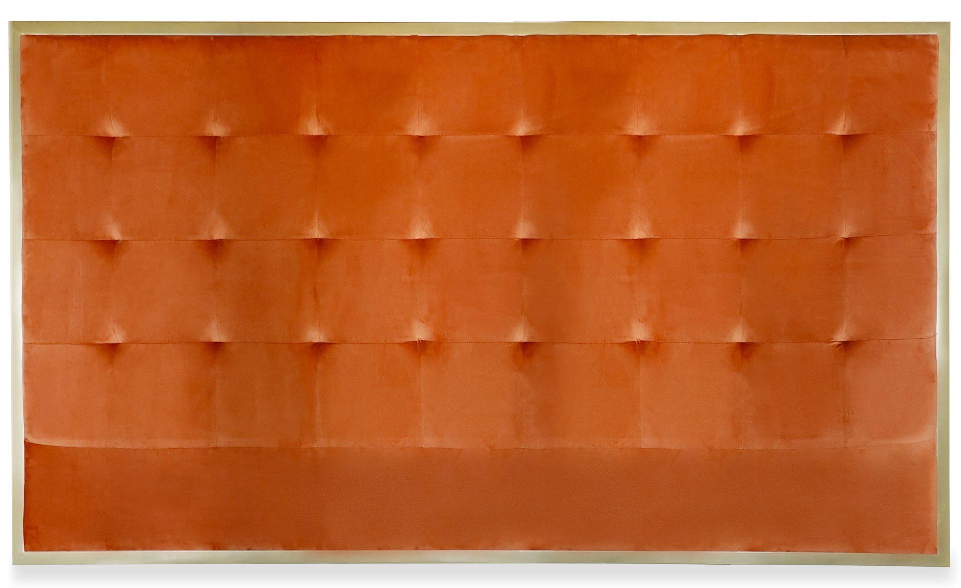 Tête de lit Donna 180 cm Velours Terracotta