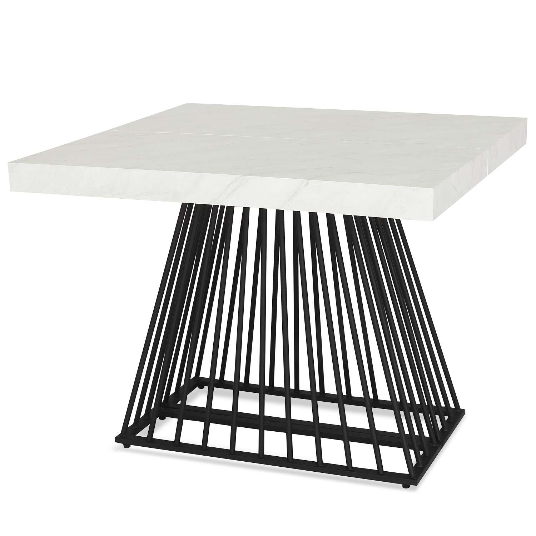 Table extensible Factory Effet Marbre