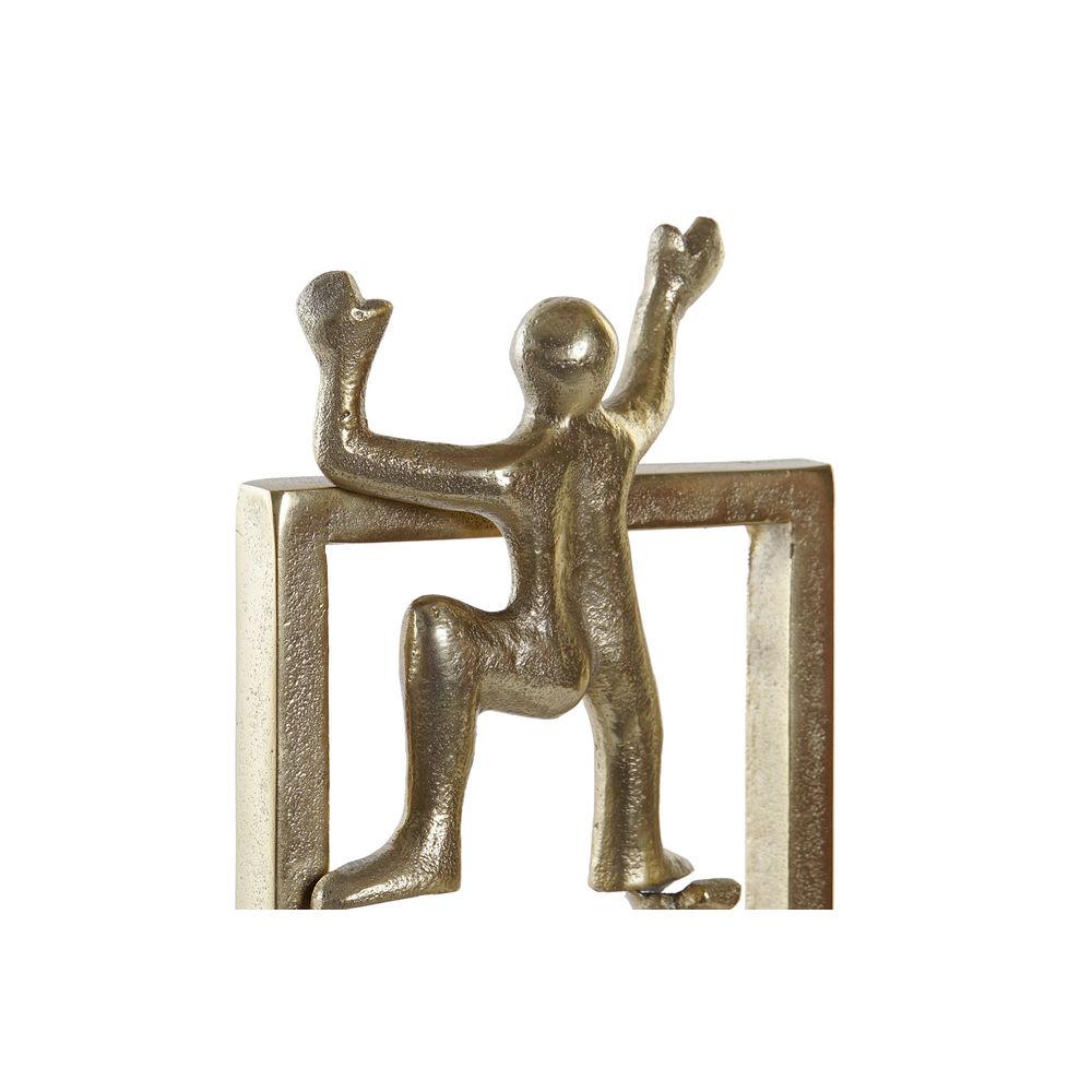 Figurine Arum 21x50cm Aluminium Or