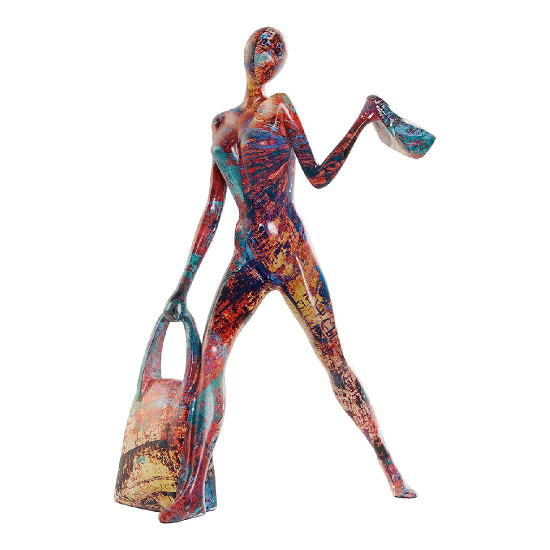 Figurine Fashion 18x27cm Résine Multicolore