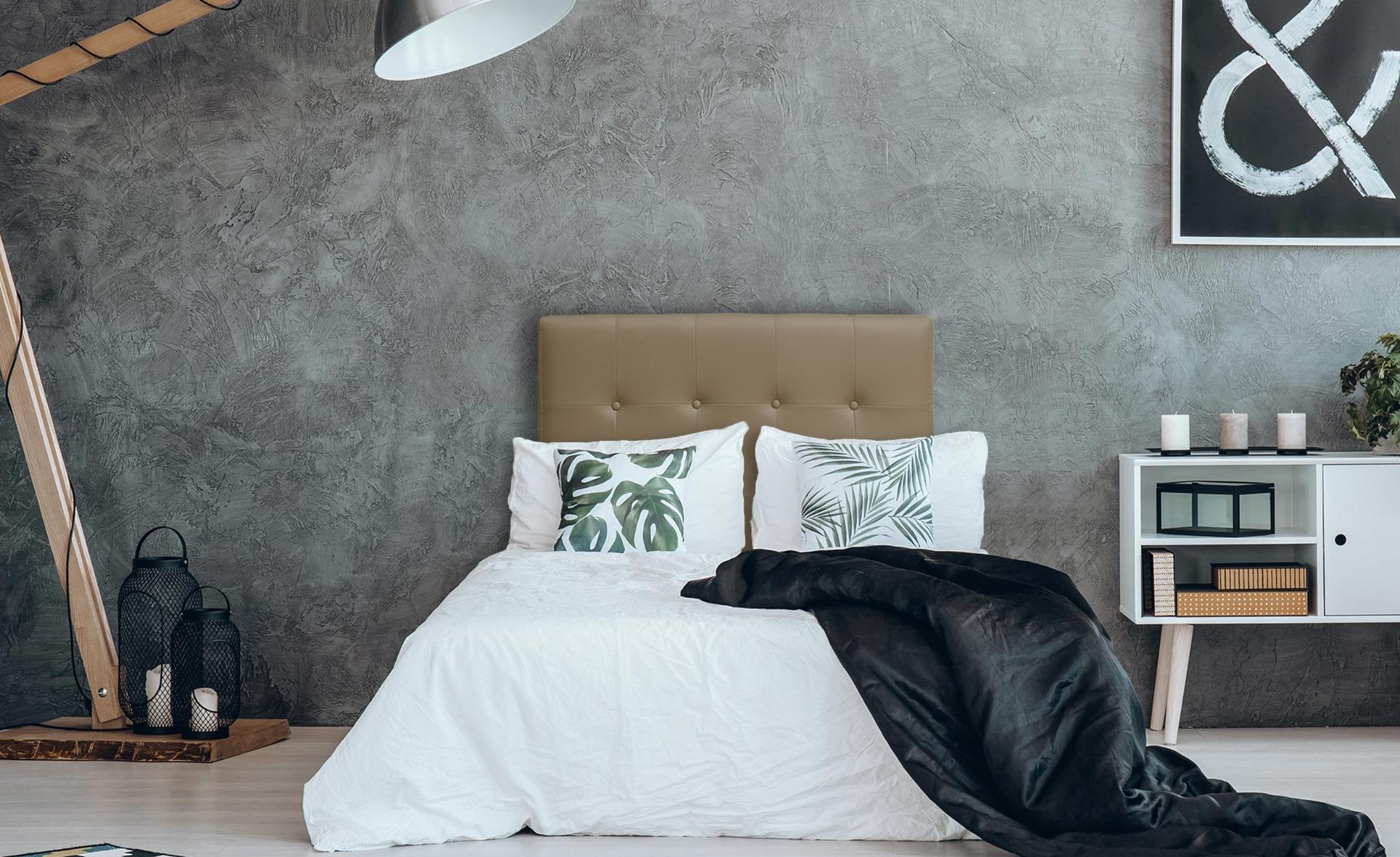 Tête de lit Luxor 90cm Taupe