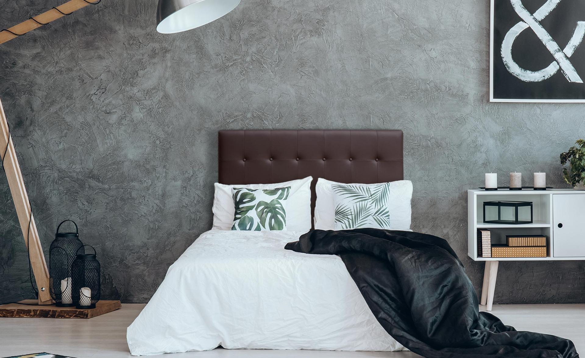Tête de lit Luxor 140cm Marron