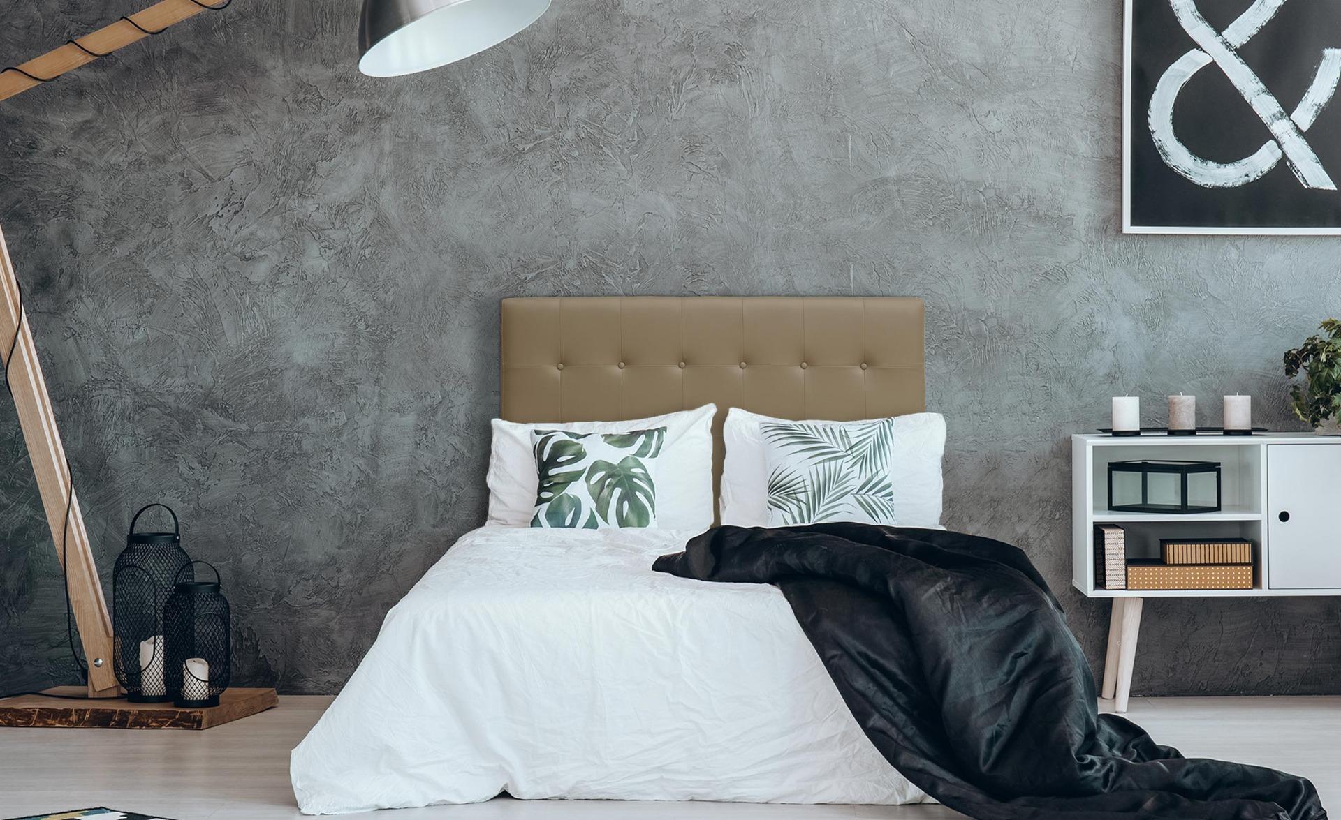 Tête de lit Luxor 140cm Taupe