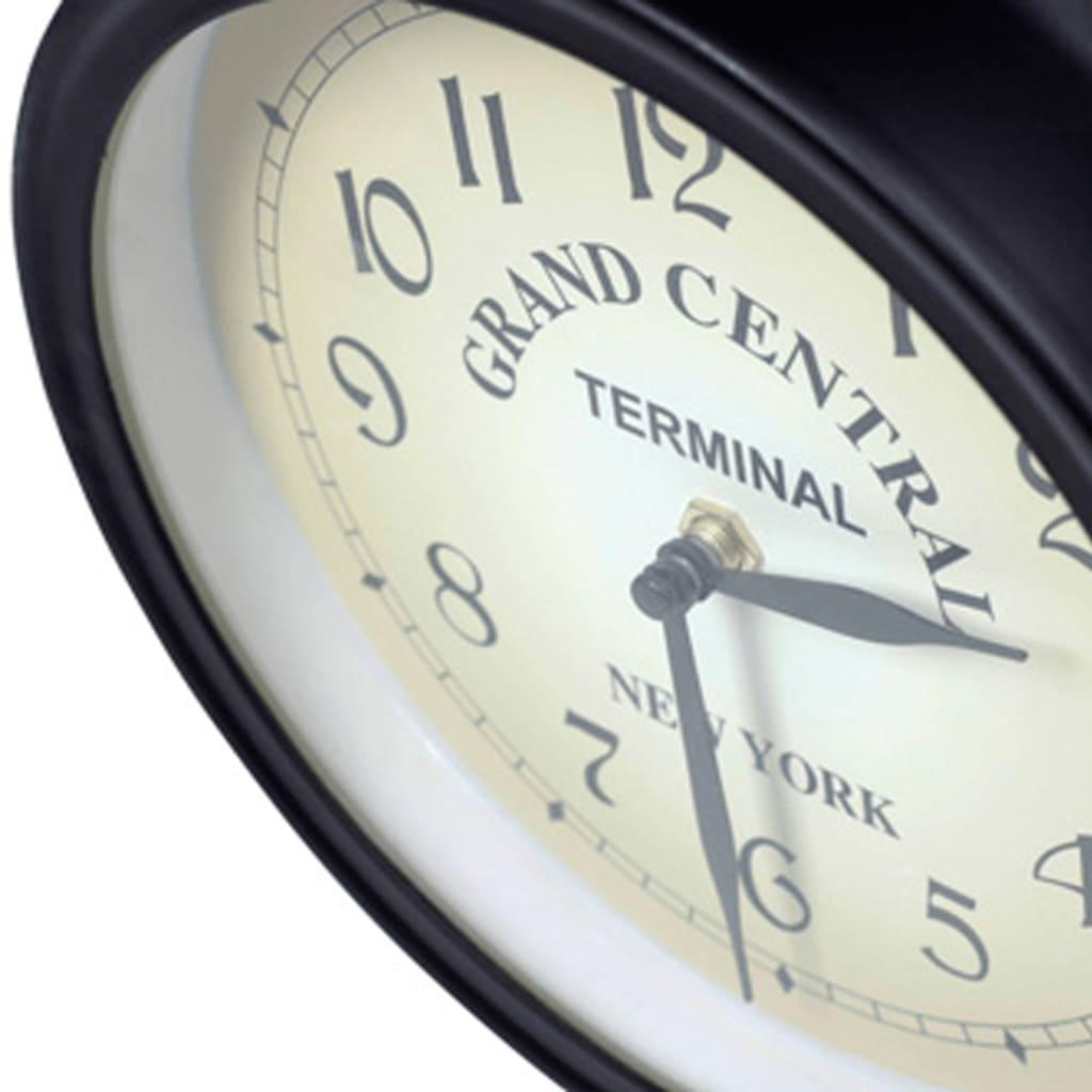 Horloge murale double face Metropolis 20cm