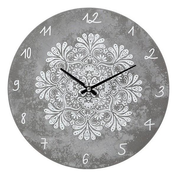 Horloge Murale Mandalaria 29cm Gris