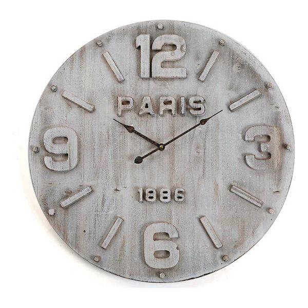 Horloge Murale Parisy 60cm Bois